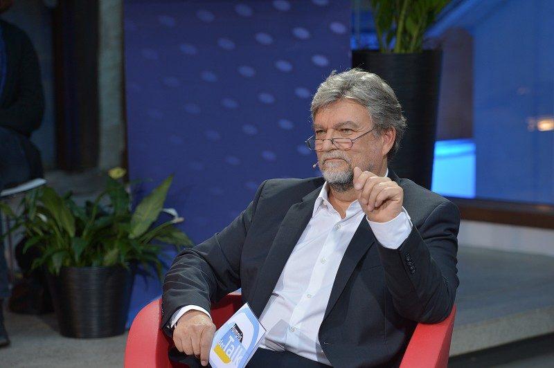 Moderator Joachim Umbach